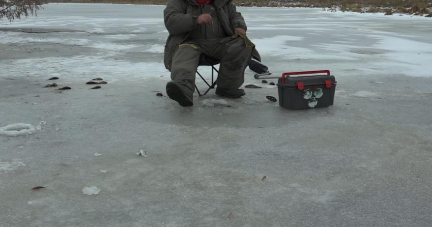 ловля толстолоба зимой со дна