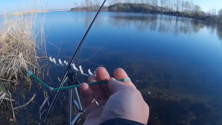фидерная рыбалка весной на карася