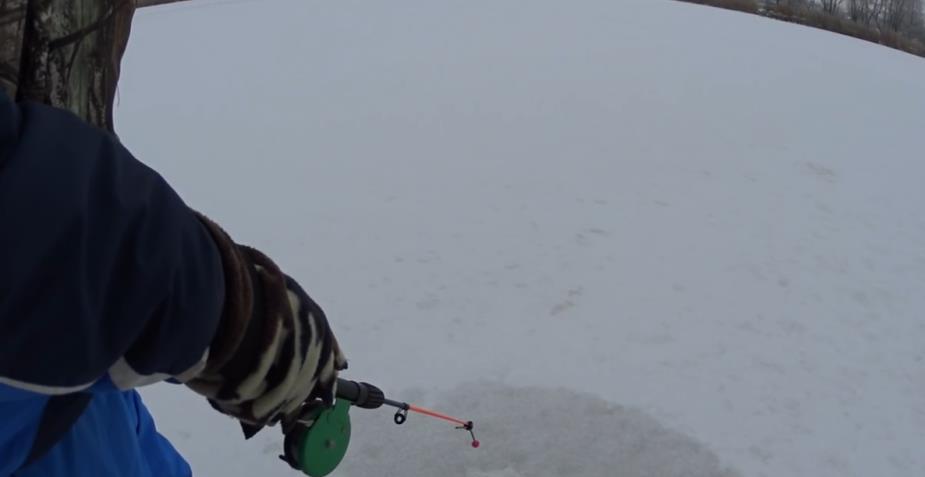 ловля щуки зимой на блесну