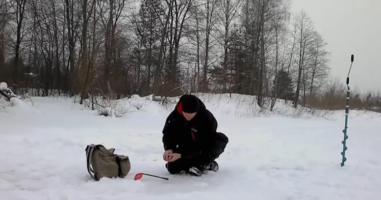 поиск места для ловли ельца