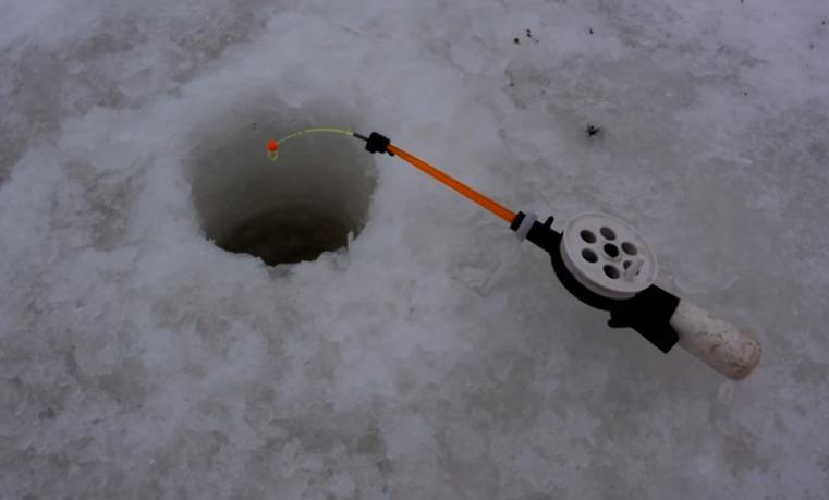 удочка для ловли пескаря зимой