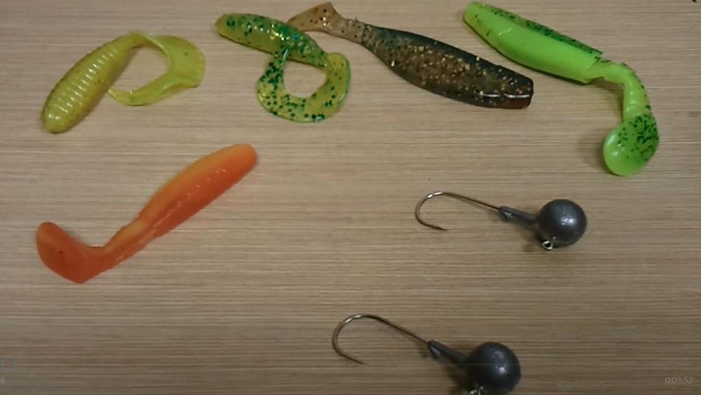Ловля на джиг-головки и шарнирные оснастки